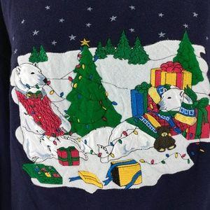 Ugly Christmas Sweater Size S Vintage Sweatshirt
